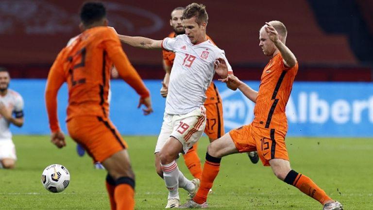 Нидерландия - Испания 1:1