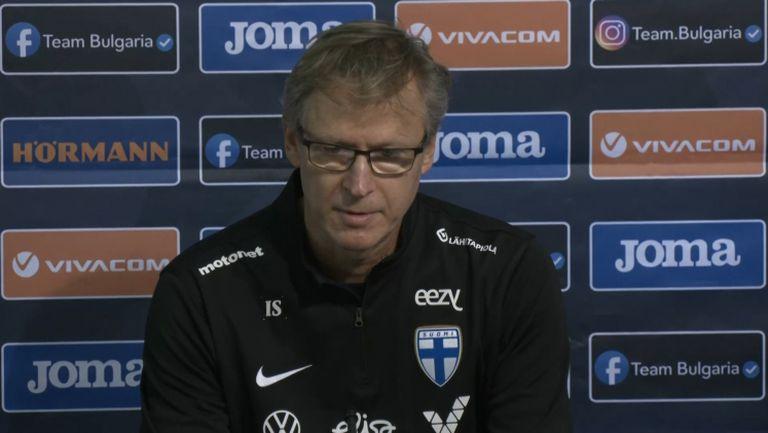Треньорът на Финландия похвали България