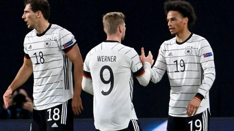 Германия обърна Украйна и спечели категорично с 3:1