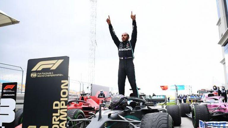 Люис Хамилтън стана световен шампион за седми път