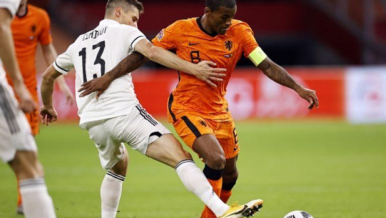 Вайналдум донесе ранен аванс за Нидерландия срещу Босна и Херциговина