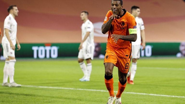 Вайналдум с втори гол и 2:0 за Нидерландия