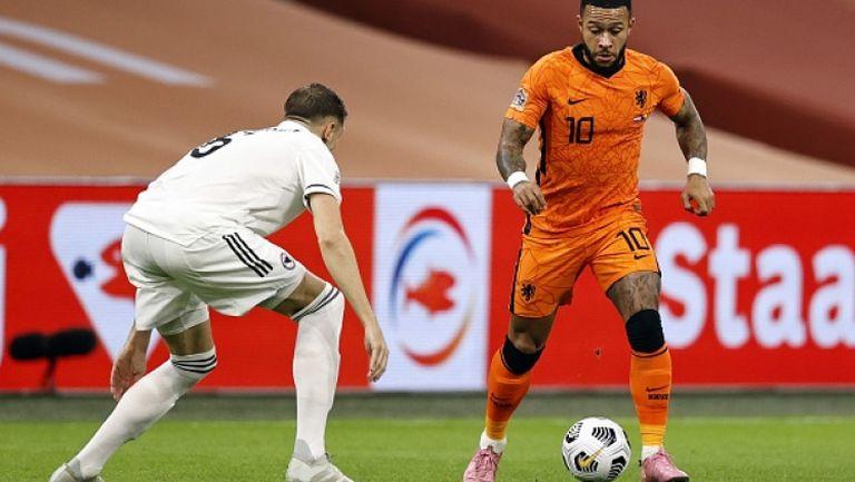 Депай направи резултата 3:0 в полза на Нидерландия срещу Босна