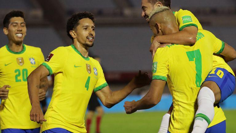 Уругвай - Бразилия 0:2