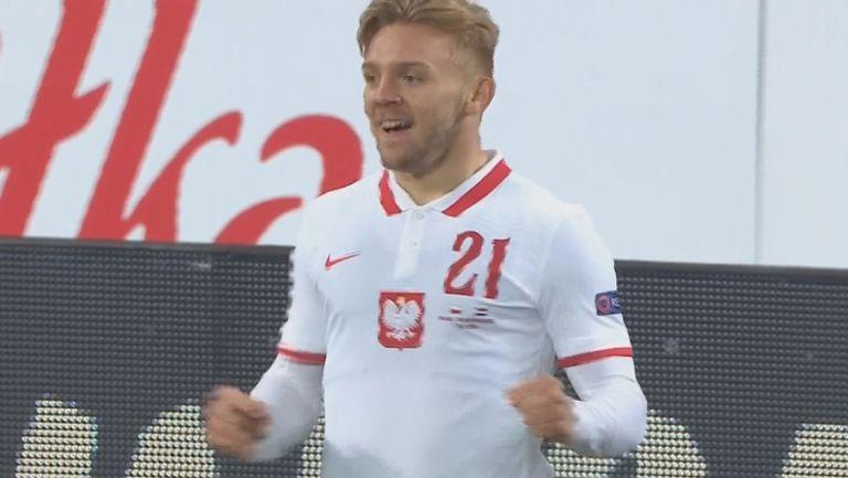 Камил Йожвяк изведе след самостоятелен пробив напред Полша срещу Нидерландия