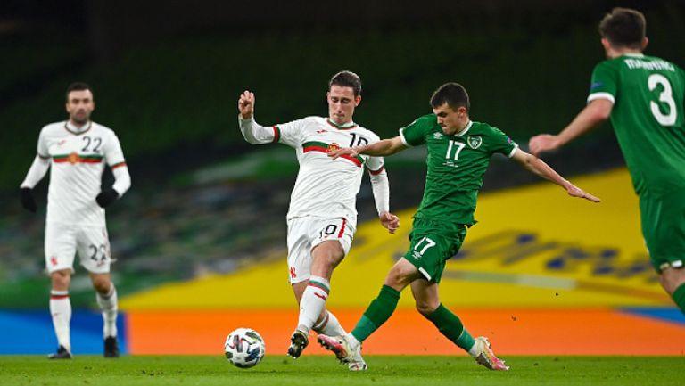 България завърши без победа и изпадна, Ирландия - България 0:0