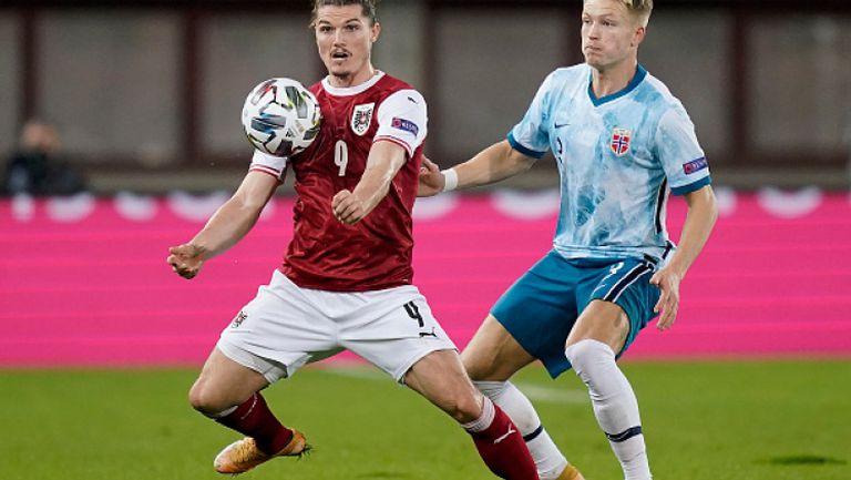 Австрия - Норвегия 1:1