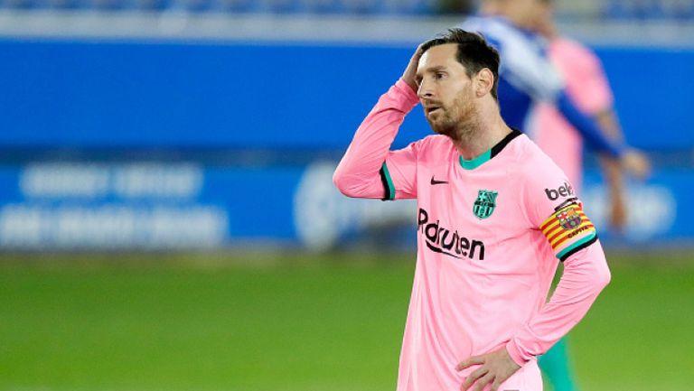 Меси: Уморих се винаги аз да съм виновен в Барселона