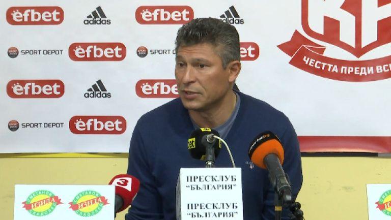 Балъков: Логично е да мислим, че без Акрапович Локомотив (Пд) ще е разколебан