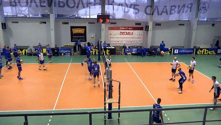 Отборите на Пирин (Разлог) и Левски в търсене на първа победа в заключителната фаза на волейболната Суперлига