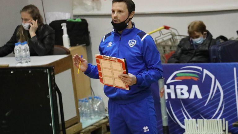 Андрей Жеков: Доволен съм, че стартираме с победа в Суперлигата