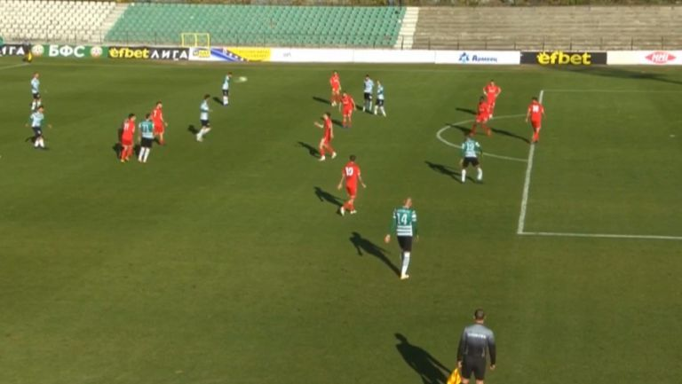 Курьор направи резултата 2:1 в полза на Черно море срещу Ботев (Вр)