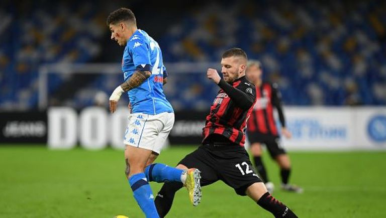 Наполи - Милан 1:3, Златан с нови два гола