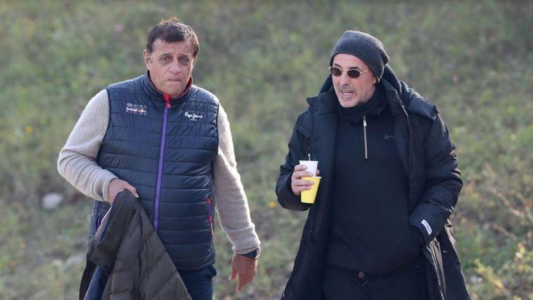 Стойне Манолов и Ивайло Петков ще гледат дербито на Втора лига