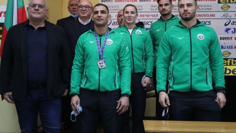 Наградиха Ивайло Иванов и джудистите ни след успеха на Европейското