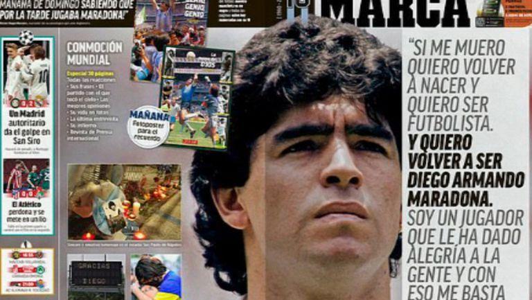 Как световната преса реагира на новината за смъртта на Марадона