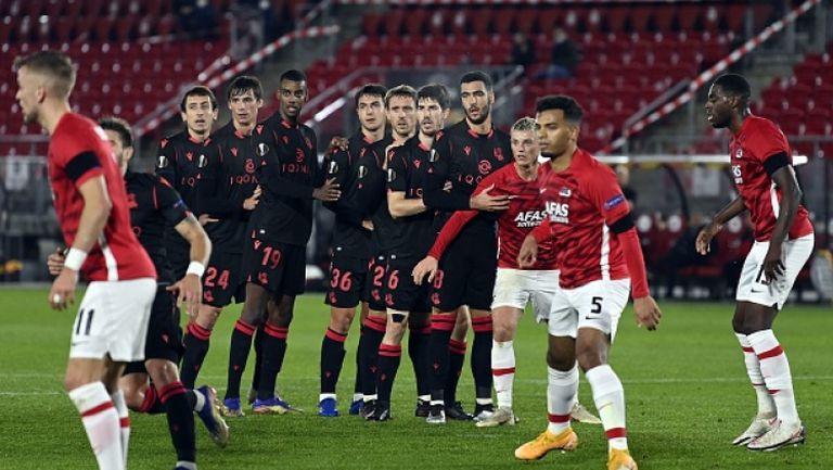 АЗ Алкмаар - Реал Сосиедад 0:0