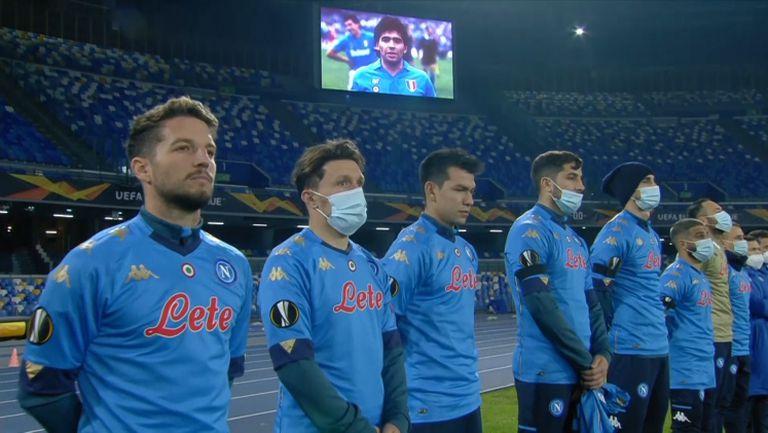 Наполи победи и почете паметта на Марадона