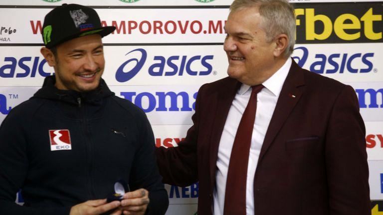 Румен Петков: Мартин Чой е човек и спортист за пример