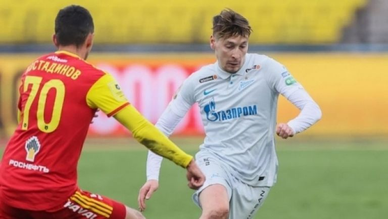Арсенал (Тула) - Зенит 0:0, Георги Костадинов със силен мач