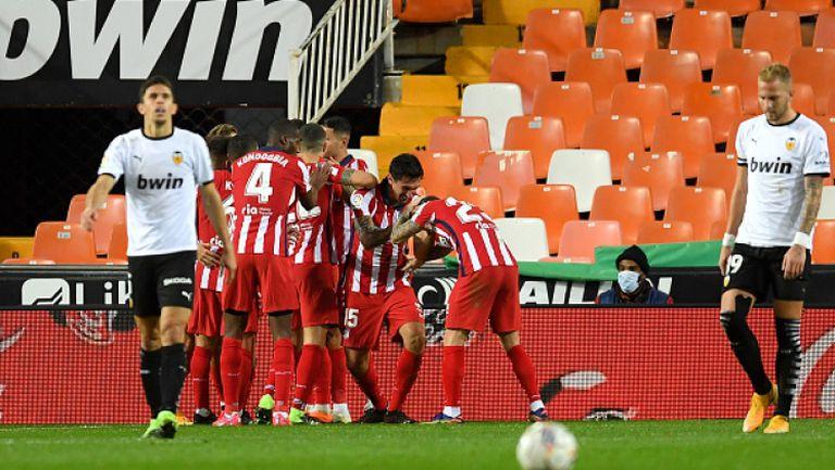 Валенсия - Атлетико Мадрид 0:1