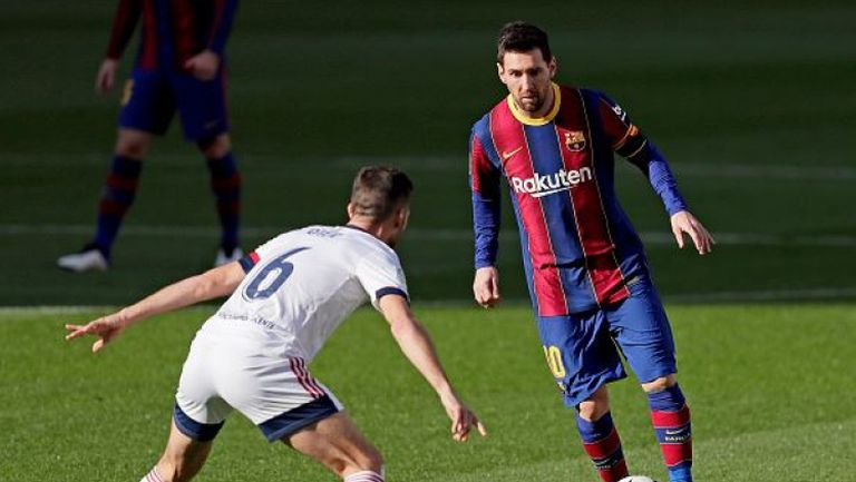 Барселона - Осасуна 4:0, каталунците изпратиха Дон Диего