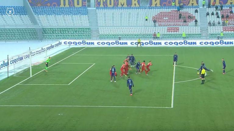 Уфа - ФК Тамбов 4:0