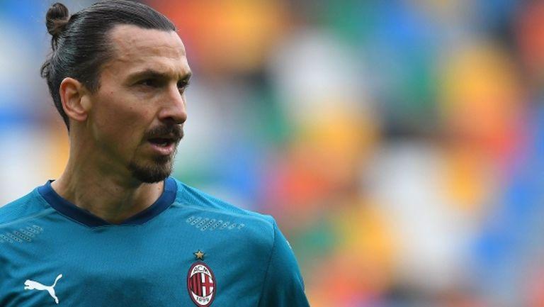Ибра разкри интересна подробност за завръщането си в Милан и се пошегува с Малдини