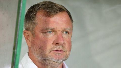 Павел Върба за Лудогорец: Нямах подкрепа от някои от лидерите