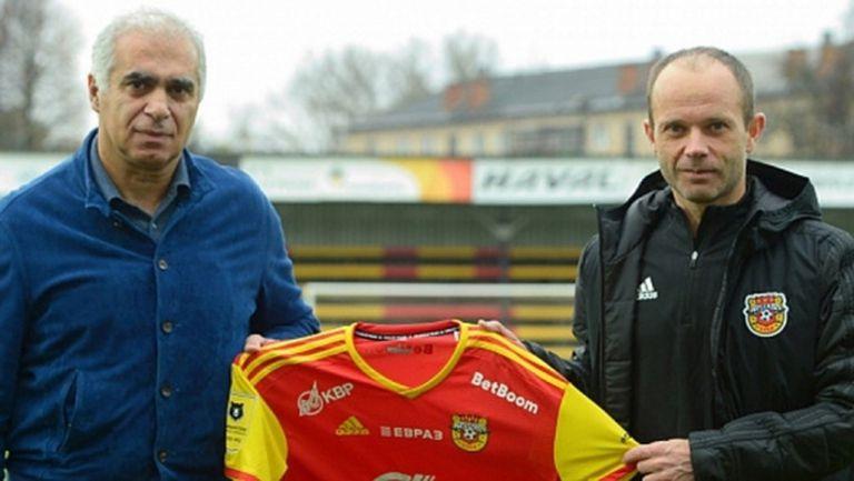 Жоро Костадинов и Арсенал (Тула) имат нов треньор