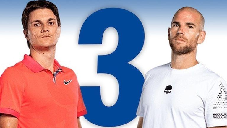 3 дни до Sofia Open: Непропускащият Манарино и дебютантът Кецманович