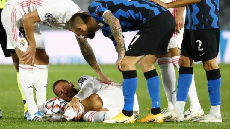 Азар бил най-слабият за Реал Мадрид снощи