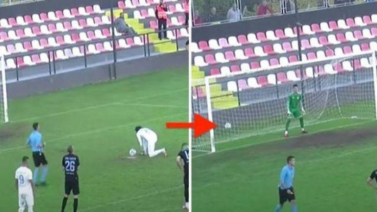 Ето защо вратарите трябва да са максимално концентрирани при дузпа (видео)
