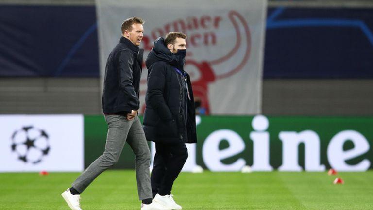 Отиваме да бием ПСЖ и във Франция, закани се треньорът на Лайпциг