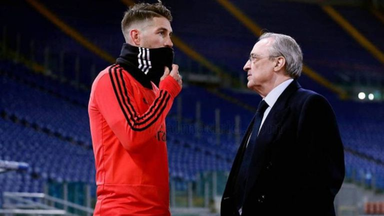 Започнаха очакваните преговори между Рамос и Реал М