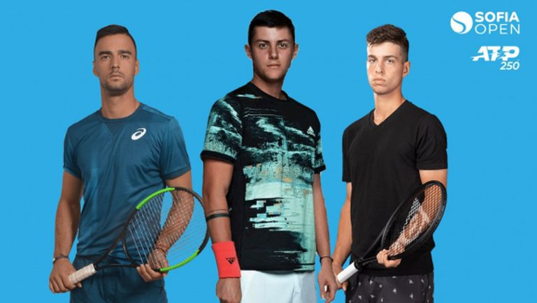 Официално: Трима българи в основната схема на Sofia Open, Григор не е сред тях