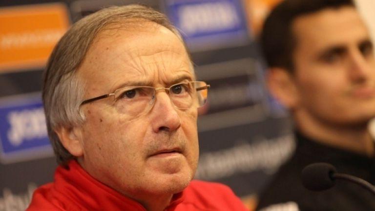 Дерменджиев: УЕФА щеше да ни глоби с 200-300 хиляди евро, ако бяхме отказали контролата с Гибралтар