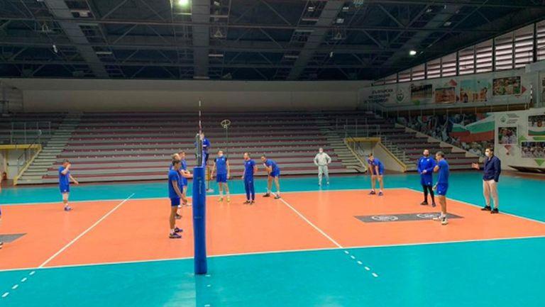 Левски с последна тренировка преди плейофа с Локо (Пд)