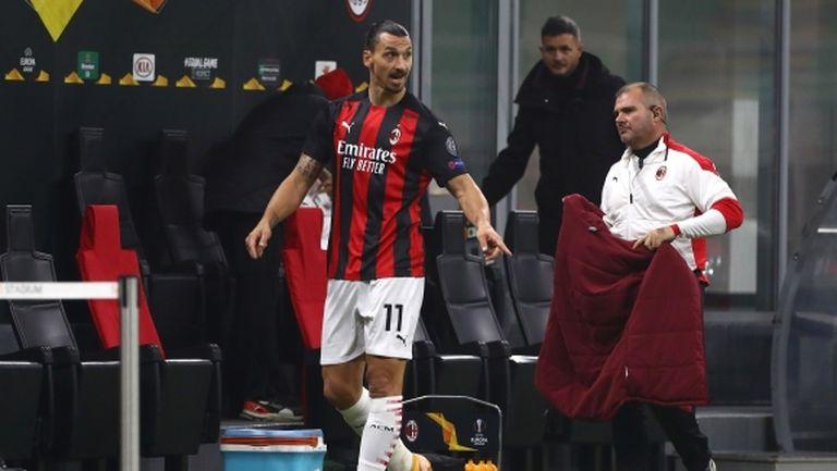 Пиоли не е притеснен от реакцията на Ибрахимович