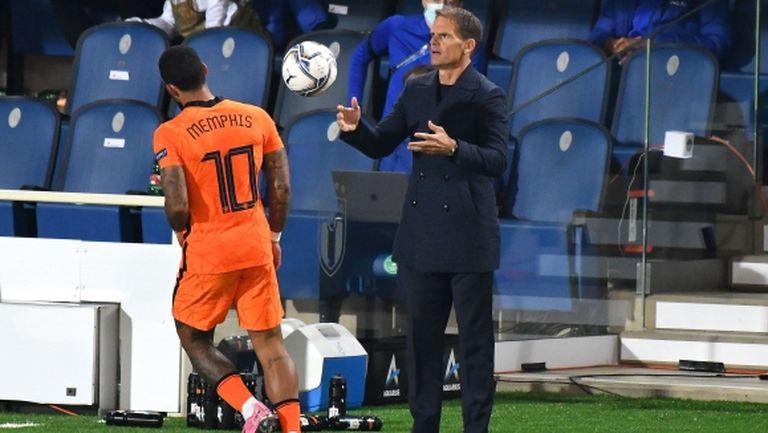 Клаасен и Ван Анхолт се връщат в националния отбор на Нидерландия