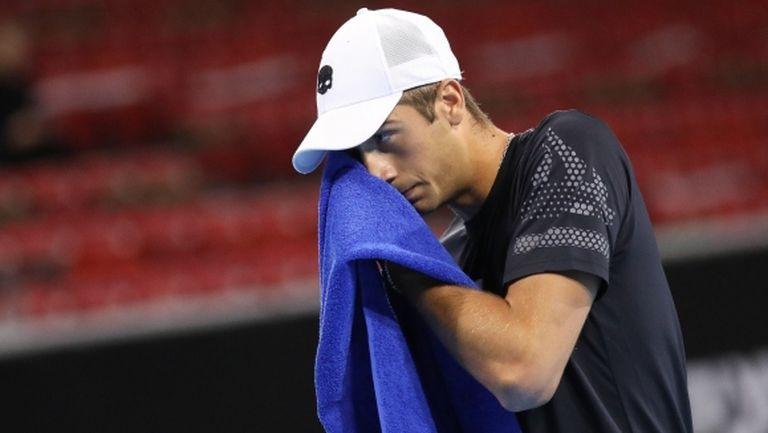 Донски отстъпи на 113-ия в света на Sofia Open