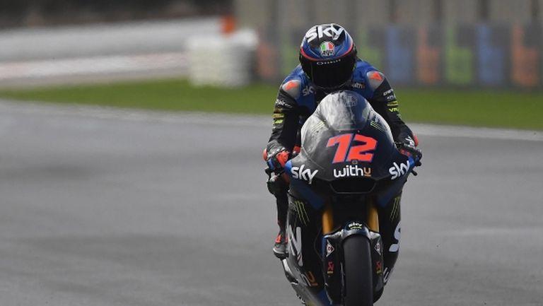 Италианец с втора победа за годината в Moto2