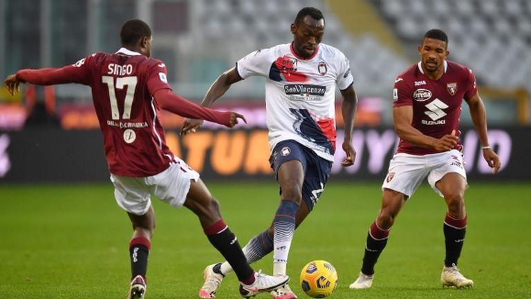 Торино взе първа домакинска точка