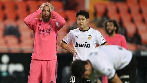 Реал Мадрид загуби тежко след три дузпи за Валенсия (видео)
