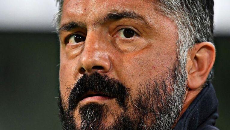 Гатузо наказал играчи с гледане на мача срещу Болоня