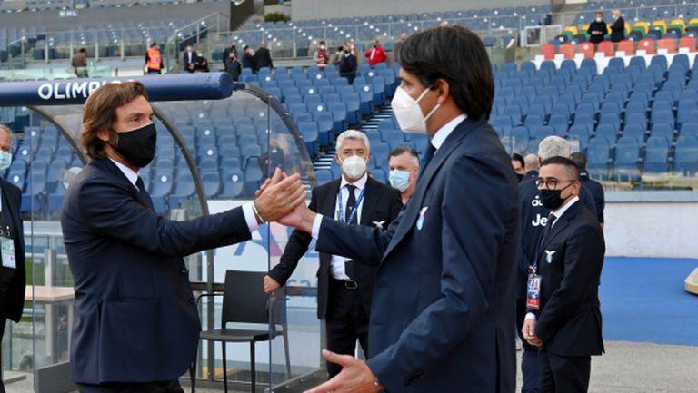 Пирло недоволен след равенството на Ювентус срещу Лацио