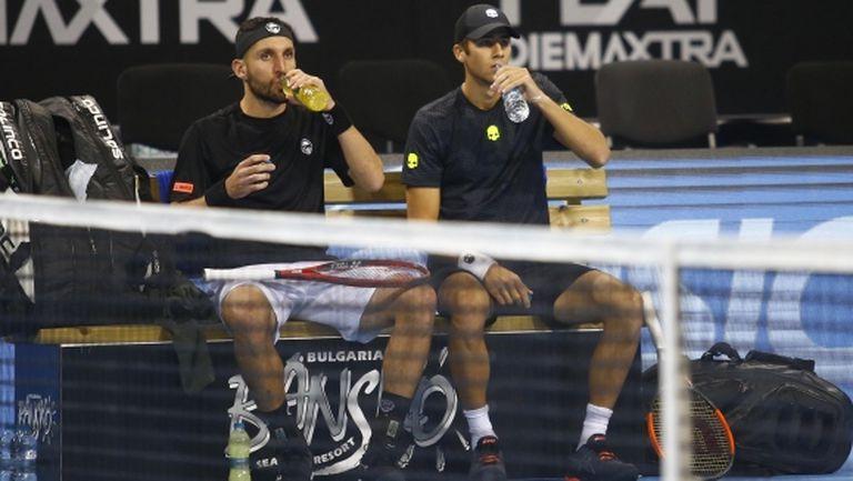 Донски и Младенов отпаднаха в първия кръг на двойки в София