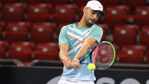Димитър Кузманов се бори мъжки, но загуби от топ 100 опонент в Sofia Open