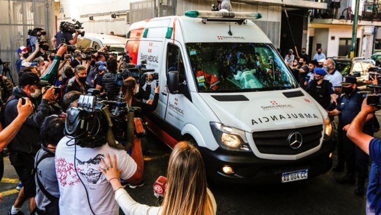 Марадона се прибра в дома си (видео)