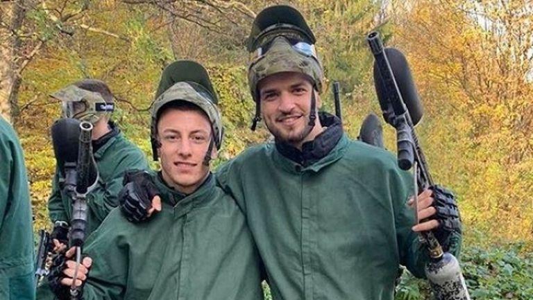 Младежите загряха за Естония с пейнтбол